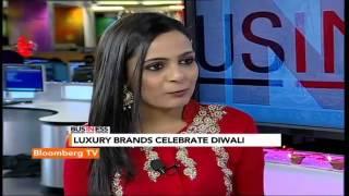 In Business- Luxury Brands Go Indian For Diwali - BLOOMBERGUTV