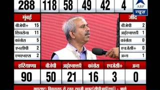 Decision on giving support to BJP not taken yet: Sena's Sanjay Raut - ABPNEWSTV