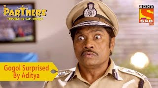Your Favorite Character | Gogol Surprised By Aditya | Partners Trouble Ho Gayi Double - SABTV