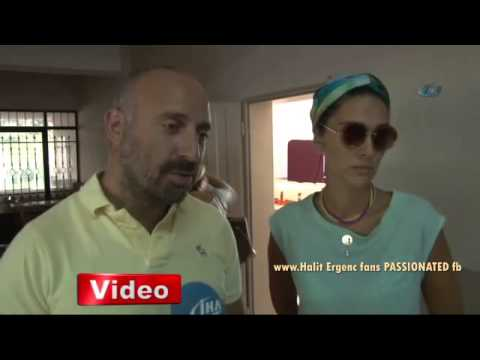 Halit Ergenc & Berguzar Korel are voting for elections in Turkey 10/8/2014 ...(english below)