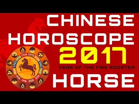 Horse 2017 Chinese Horoscope Predictions