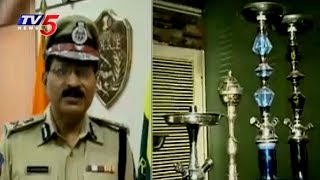 Hookah Centres Ban in Hyderabad | CP Mahender Reddy Face to Face | TV5 News - TV5NEWSCHANNEL