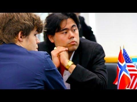 Magnus Carlsen vs Hikaru Nakamura - Tata Chess Tournament 2011 - Chess Grandmaster