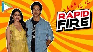 """If I meet Bajrangi Bhaijaan I would…"": Ishaan Khatter   Janhvi Kapoor   FULL RAPID FIRE   Dhadak - HUNGAMA"