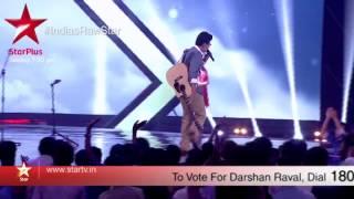 A sneak peek into Darshan's performance on India's Raw Star - STARPLUS
