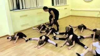 Открытый урок 18.12.2015 (ф.Центральный, гр.4-5 Детская Шоу-хореография)