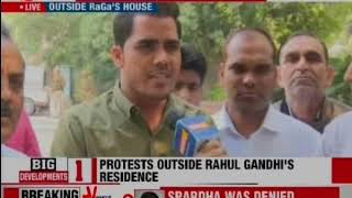Rahul Gandhi and Sachin Pilot gheraoed by protestors - NEWSXLIVE