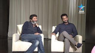 Taraka Sametha Trivikram - NTR & Trivikram ' Aravinda Sametha' Special Interview - MAAMUSIC