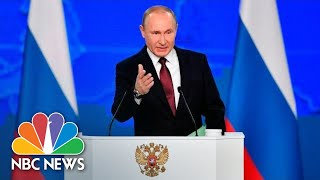 Putin Warns Russia Will Target U.S. If New Nuclear Missiles Are Deployed In Europe | NBC News - NBCNEWS