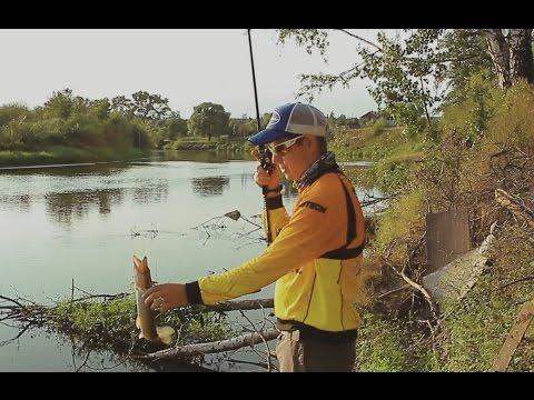 рыбалка на средних реках