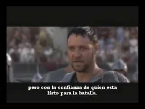 Gladiador - Video Motivacional - 365 Historias en Video Al Pacino Speech