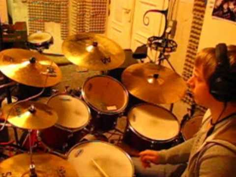 Peter Gabriel - Red Rain - drum cover