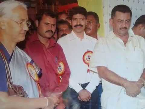 G.Naik,B.T.Lalitha Naik and D.K.Shivakumar inagurating Banjara temple at Arjunahalli thandya
