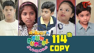 Fun Bucket JUNIORS | Episode 114 | Kids Funny Videos | Comedy Web Series | By Nagendra K | TeluguOne - TELUGUONE