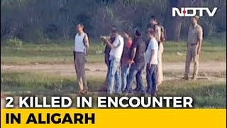 2 Shot Dead In UP Encounter On Camera, Cops Invited Journalists To Watch - NDTV
