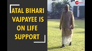 Atal Bihari Vajpayee is on life-support system - ZEENEWS