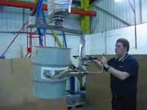 Palamatic Vac Lifter with Drum Pouring Tool Manually Operated