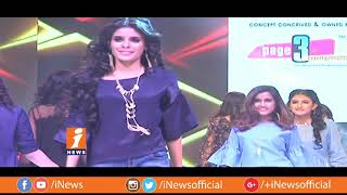 Models Ramp Walk In Miss Hyderabad 2018 Contest  | Metro Colours | iNews - INEWS