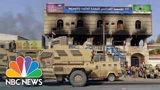 U.S.-Backed Arab Forces Fight To Wrest Vital Yemeni City From Rebels | NBC News - NBCNEWS
