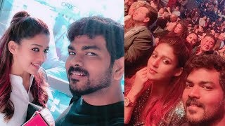 Nayanathara New Year 2019 Celebrations With Her Boyfriend Vignesh Shivan - RAJSHRITELUGU