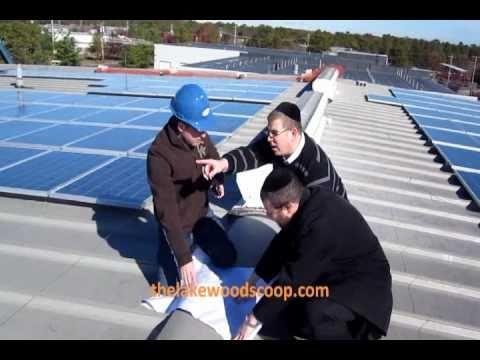 Arosa Solar Installing Solar Panels On Bais Yaakov Roof