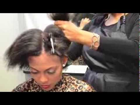 Partial Sew In Braiding: The BUTTERFLY EFFECT