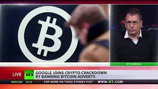 Google bans bitcoin adverts - RUSSIATODAY