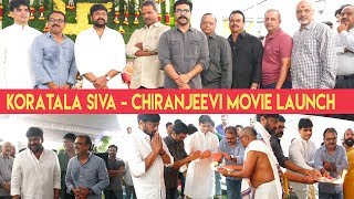 Megastar Chiranjeevi 152 Movie Launch | Chiru New Movie Opening - IGTELUGU