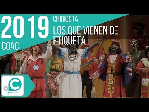 Sesión de Cuartos de final, la agrupación Los que vienen de etiqueta actúa hoy en la modalidad de Chirigotas.