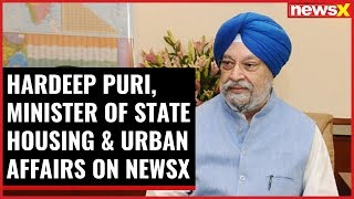 NewsX Conclave- Building India: Hardeep Puri, MoS Housing & Urban Affairs on NewsX - NEWSXLIVE