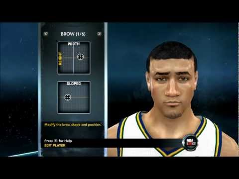 NBA 2K12 - How To Create Enes Kanter