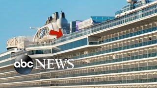 Woman falls off upper deck of cruise ship to her death - ABCNEWS