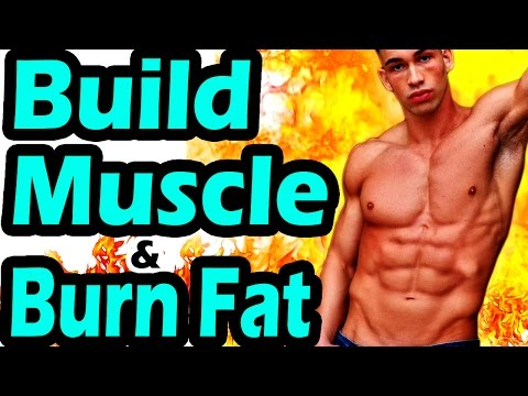 Best workout routine to GAIN MUSCLE and LOSE BELLY FAT at the same time | Build Muscle Mass Weight