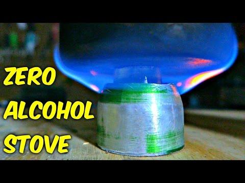 Zero Alcohol Stove