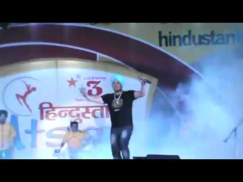 Dilbagh singh live at HT Utsav 2011 - shows bookings 98103 76668