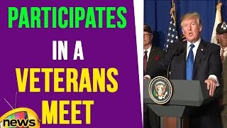 President Trump Participates In a Veterans Meet And Greet | Mango News - MANGONEWS