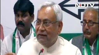 "Upset With Union Ministers, Nitish Kumar Says ""Communalism Unacceptable"" - NDTV"