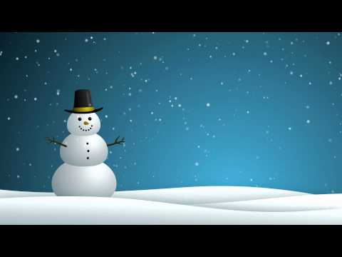 Snowman - HD Background Loop