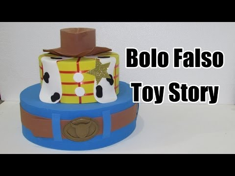 Bolo falso Toy Story