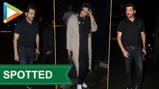 Anil Kapoor & Rhea Kapoor SPOTTED at Yauatcha - HUNGAMA