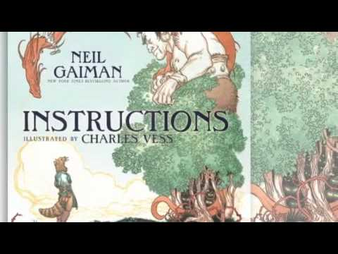 Neil Gaiman and Charles Vess - Instructions Book Trailer