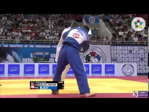 Judo 2014 Grand Prix Ulaanbaatar: Valois-Fortier (CAN) - Blach (POL) [-81kg] bronze