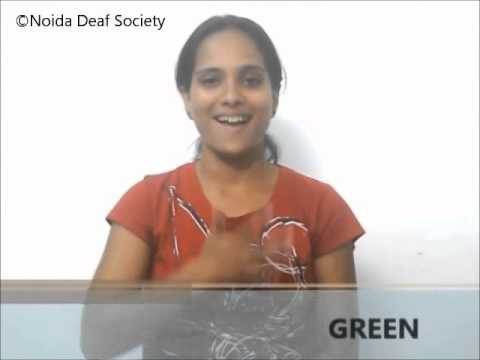 Learn Indian Sign Language - Part 2 (Colours)