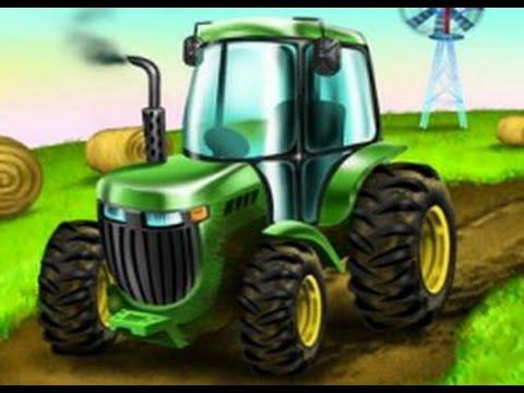 Tractores Dibujos Animados Para Niños