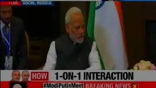PM Modi meets Putin in Russia to strengthen strategies - NEWSXLIVE
