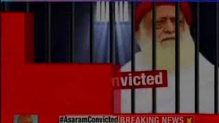 Convict Asaram gets life sentence; 'shocked' bapu broke down in court - NEWSXLIVE