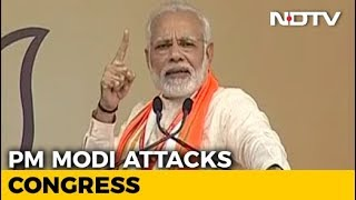 """The More Mud You Sling, The More Lotus Will Bloom"": PM Attacks Congress - NDTV"