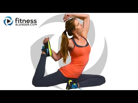 At Home Cardio and Abs Workout - Fat Burning Core and Cardio Intervals