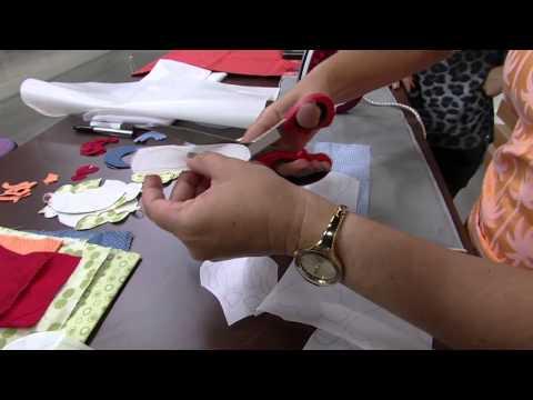 Mulher.com 08/04/2014 - Customização com barrados por Isamara Custodio Parte 01