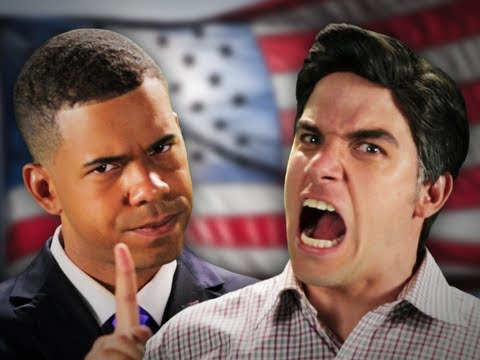 Barack Obama vs Mitt Romney. Epic Rap Battles Of History Season 2.